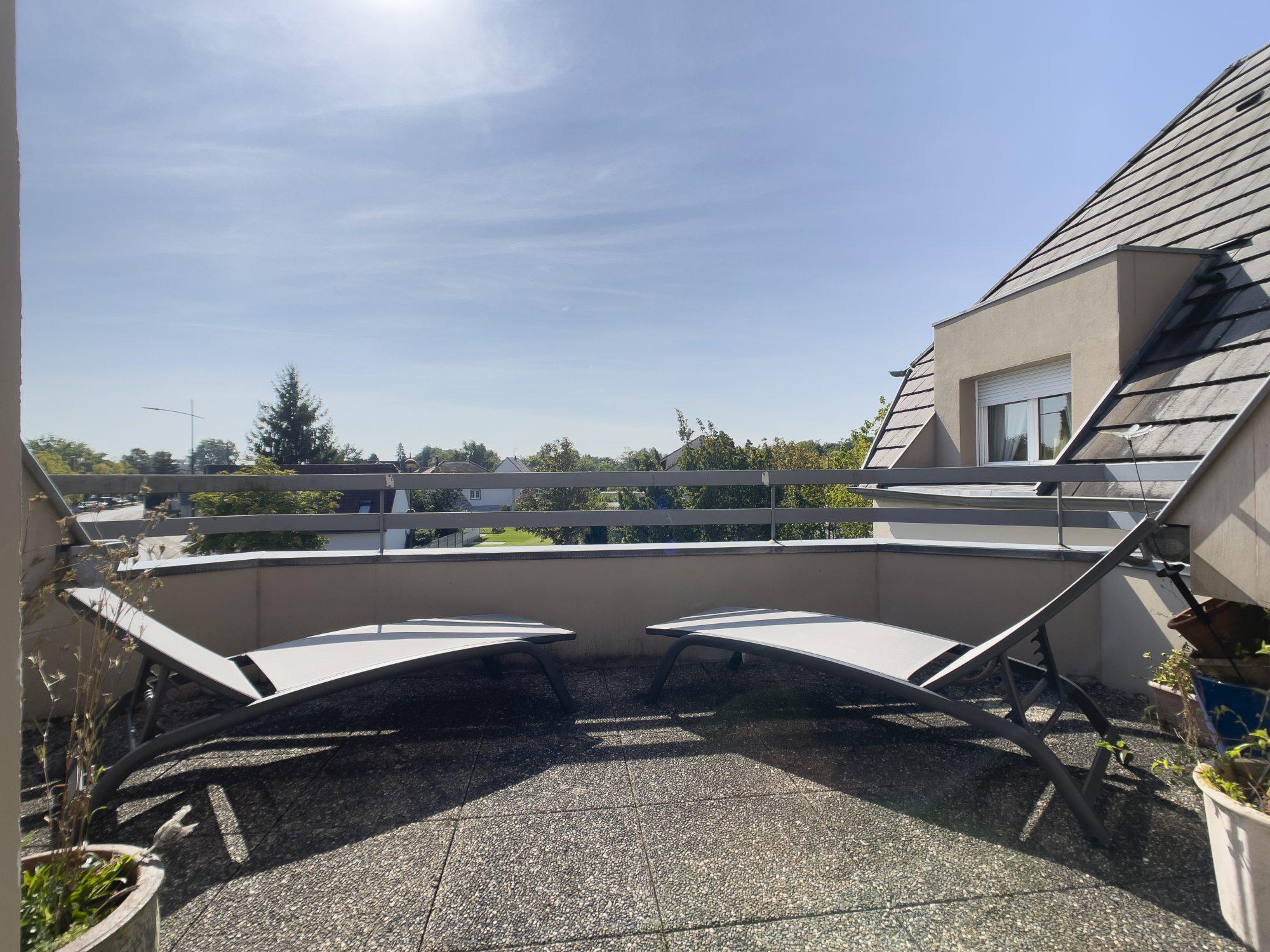 Superbe Duplex avec terrasse