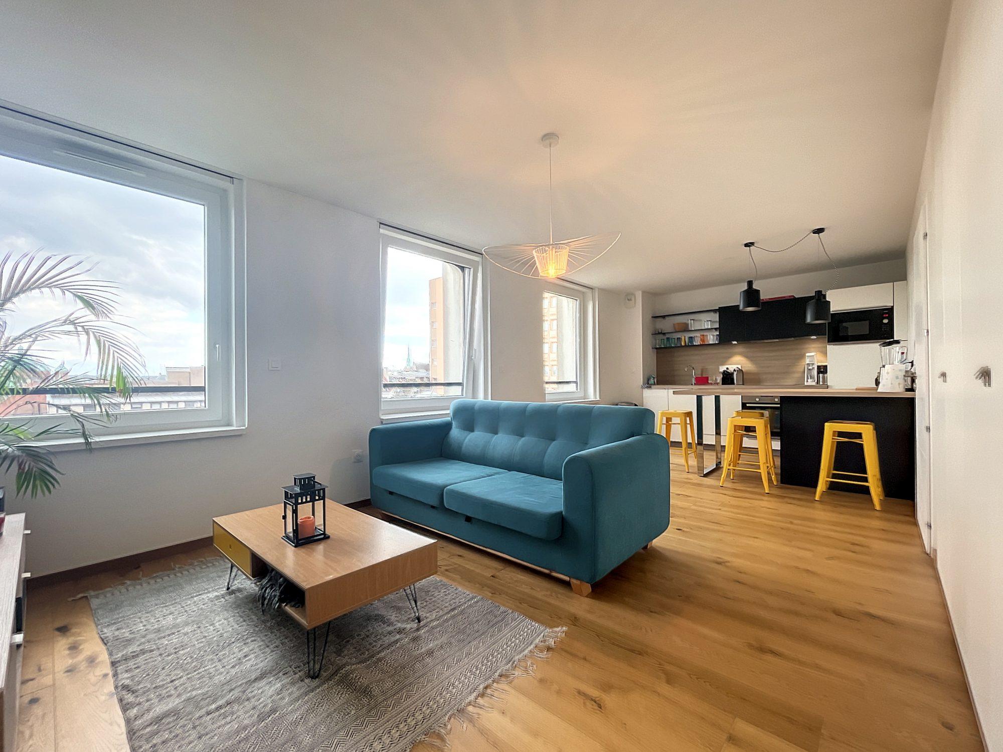 Stasbourg Centre Ville Appartement 2 pièces 48,34 m2